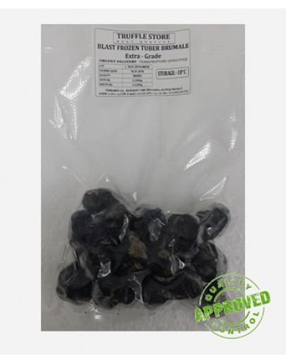 Gefrorene schwarze Trüffel Brumale A-qualität