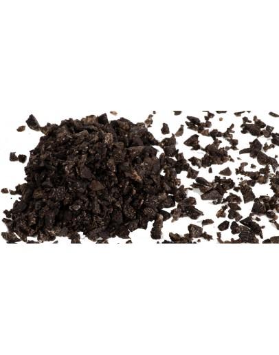 Frische Schwarze Trüffel Tuber Melanosporum - Kleine Stücke Frische Trüffel, Trüffel-Arten, Frisches Tuber Melanosporum Bild