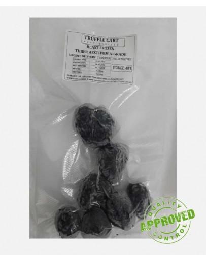 Gefrorene schwarze Sommertrüffel A-qualität Trüffel tiefgefroren (schockgefroren) Bild