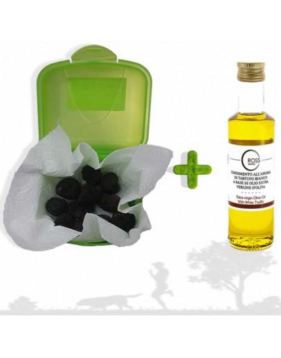 Schwarz Trüffel Pack für Hundetraining